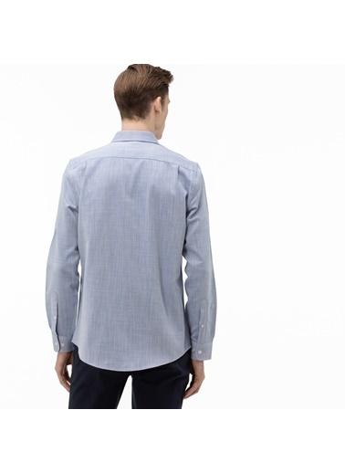 Lacoste Erkek Slim Fit Gömlek CH0017.17M Mavi